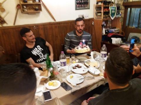 Τα γενέθλια του αρχηγού...